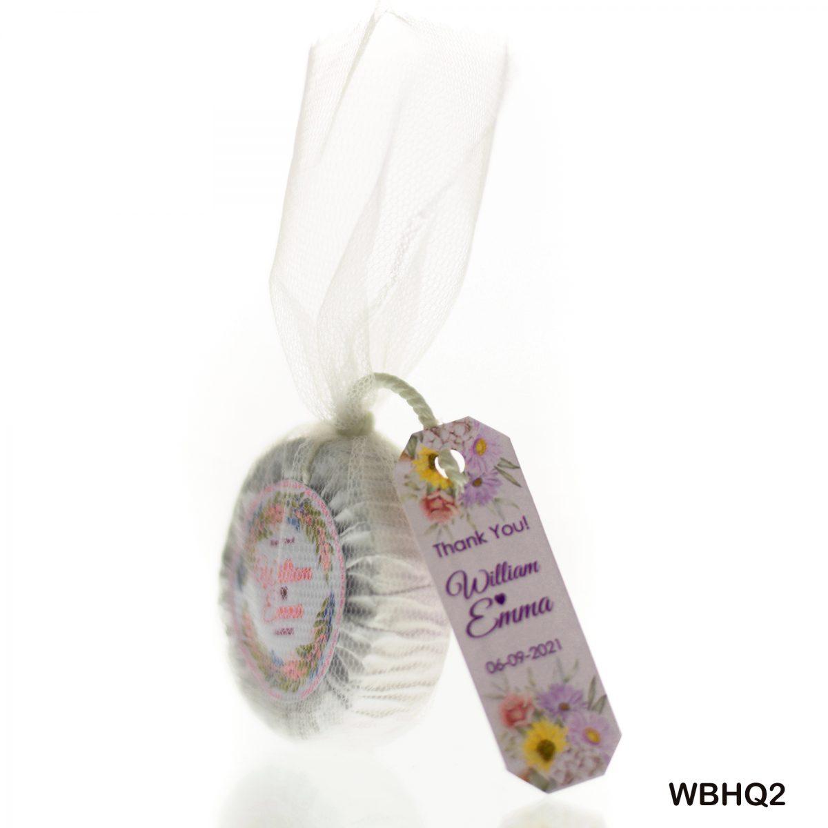 Mini Wedding Soap Favors - Rustic Guest Soaps - Choose your scent - Customize your wrap design -hotel soap size